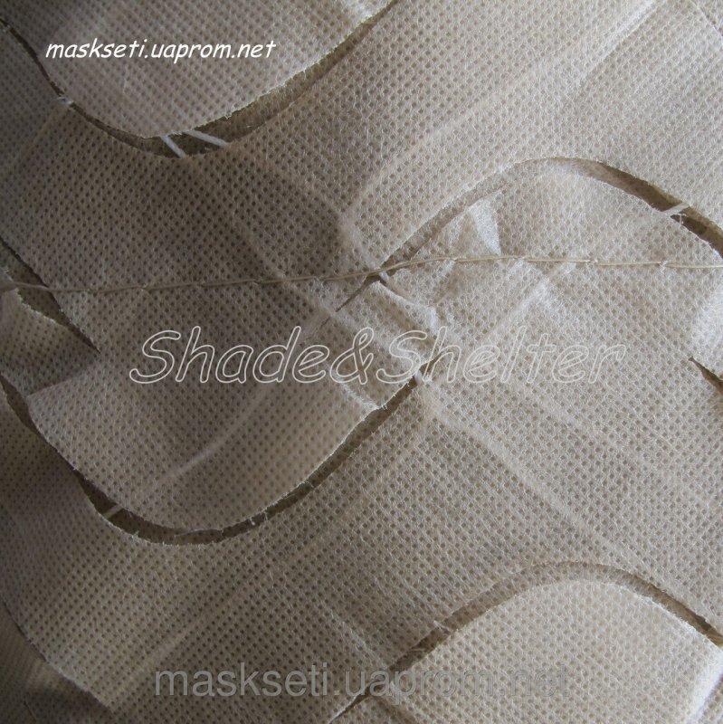 Купить Сеть маскировочная S&S DECO 85% покрытия (продуваемый тент для декора детских игровых площадок) бежевый, 3*3м