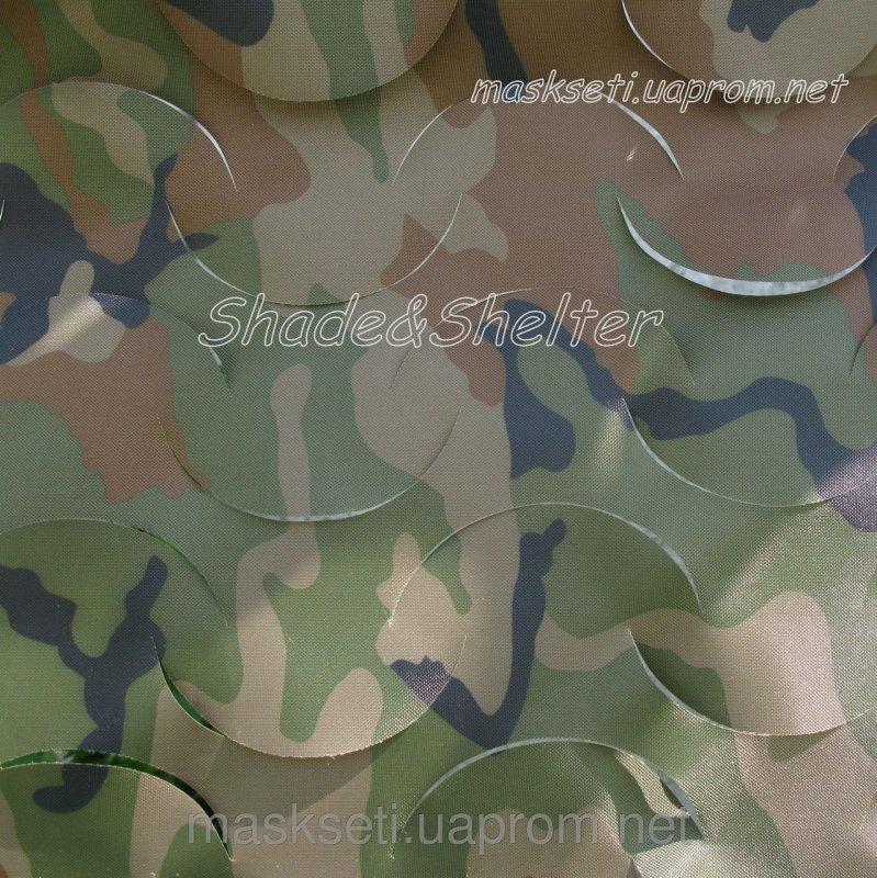 Купить Сеть маскировочная S&S Hunter без сетевой основы 1,5*3м, камуфляж