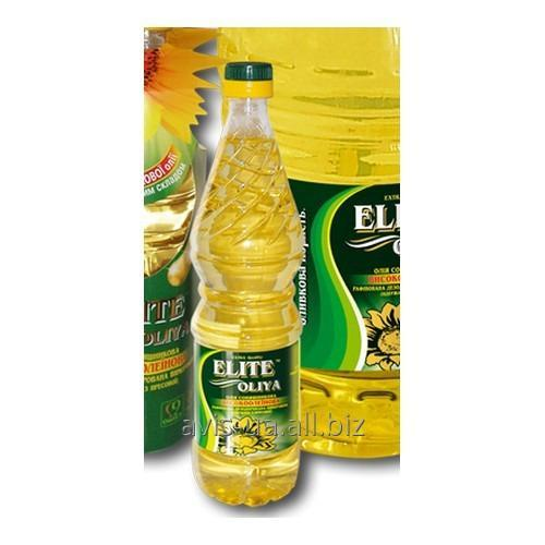 Купить Высокоолеиновое подсолнечное масло Элит Масло 0,8л