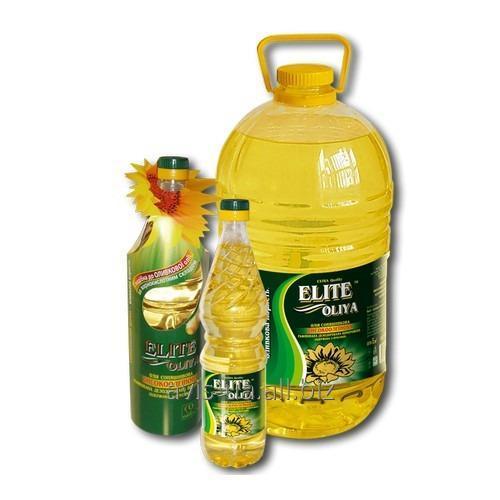 Купить Высокоолеиновое подсолнечное масло Элит Масло 5л