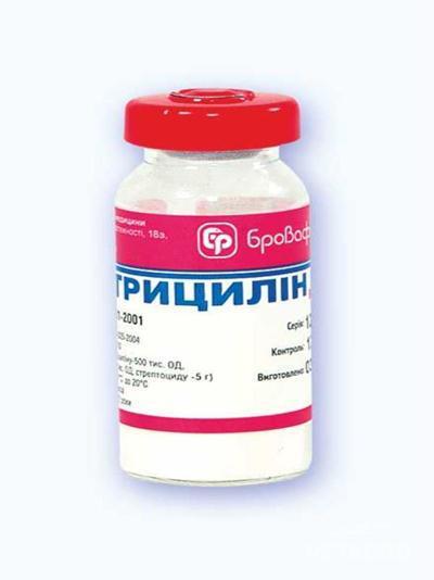 Купить Антибиотик Трицилин 6г