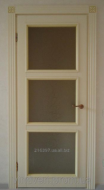 Купить Двери деревянные с резьбой и патиной