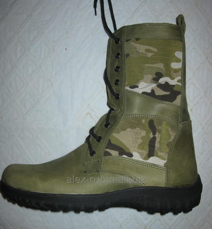 Купить Ботинки зеленые со вставками мультикам