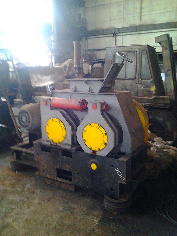 Пресс валковый ПБВ-24 для брикетирования угля.