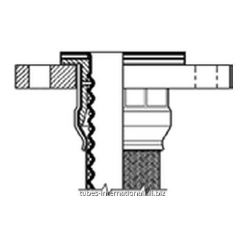 Фитинг DIN PN10/16 для шланга Corroflon