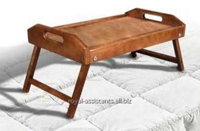 Купить Столик для завтрака (поднос на ножках) из дерева