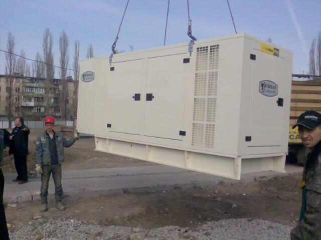Дизельный генератор, электростанция Doosan-Daewoo (94-775 kVA)