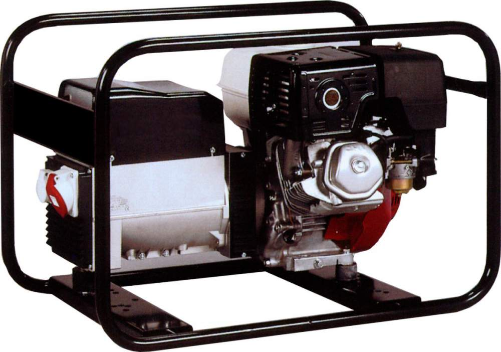 Gasoline-driven generator, power plant, electrical unit of Honda of 2-15 kW