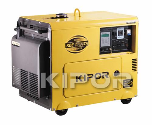 Diesel generator, power plant, electrical unit, DGA KDA6700TAO model