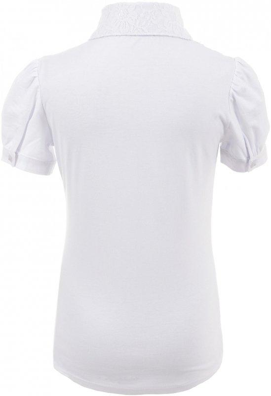 Модная блузка белого цвета