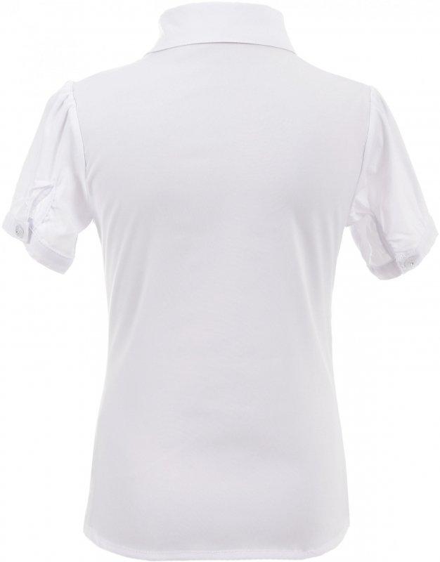 Стильная блузка белого цвета