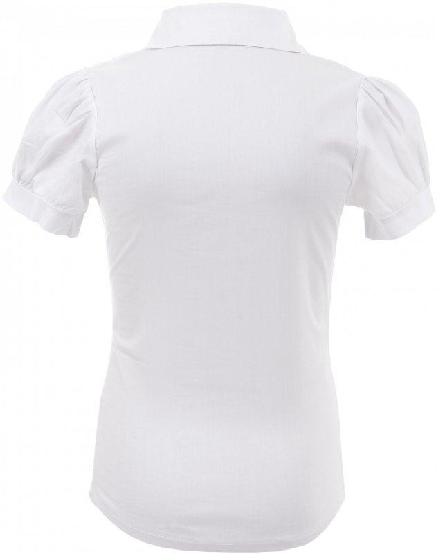 Элегантная блузка белого цвета