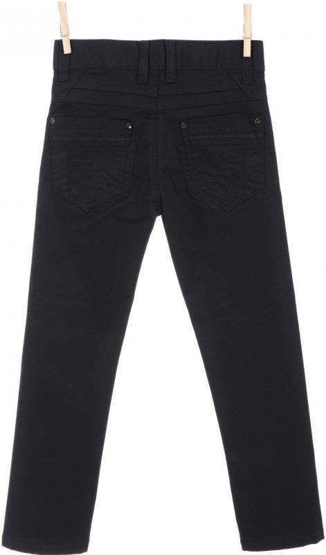 Модные брюки черного цвета для мальчика