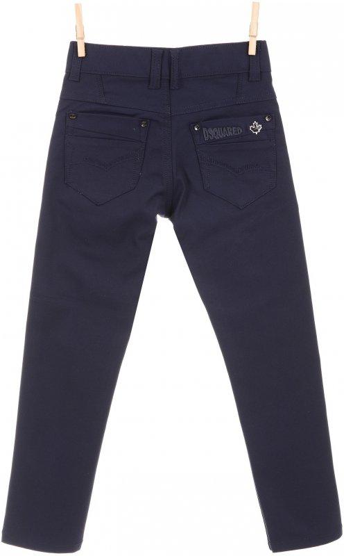 Модные повседневные брюки черного цвета