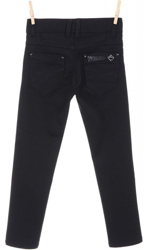 Стильные повседневные брюки черного цвета
