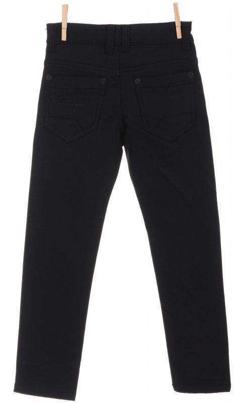 Стильные брюки черного цвета с высокой посадкой