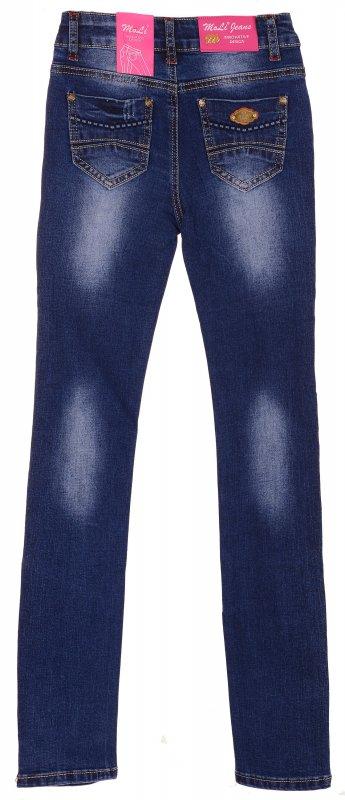 Купить Модные джинсы голубого цвета с потертостями