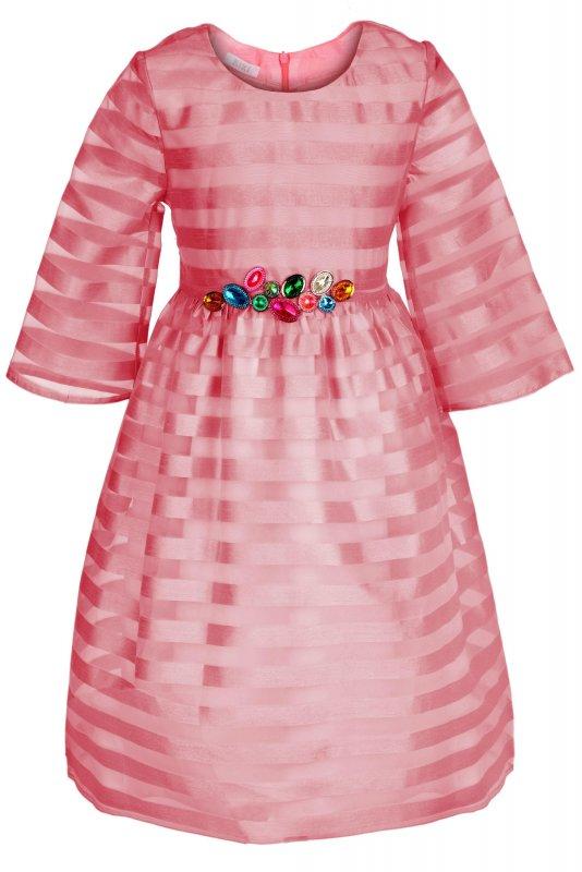 Купить Милое детское платье кораллового цвета