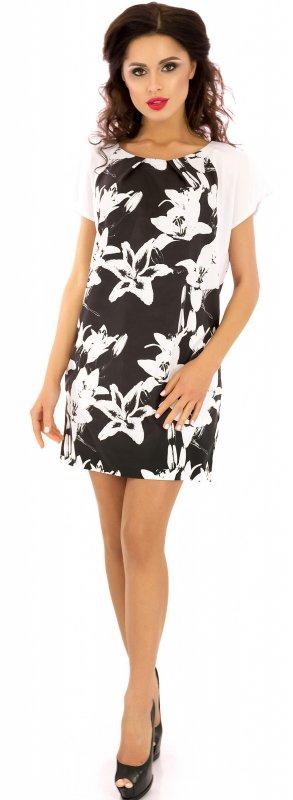 Купить Необычное летнее платье черного цвета