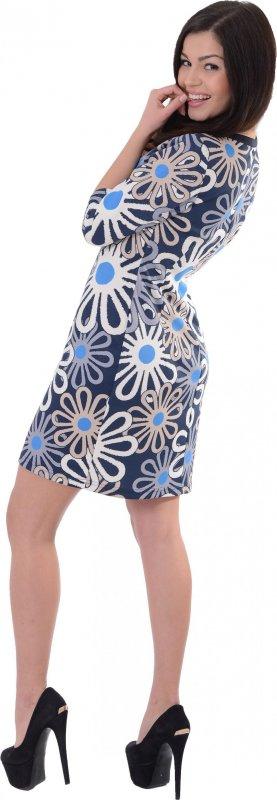 Купить Кокетливое повседневное платье с цветами