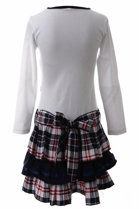 Купить Оригинальное платье белого цвета