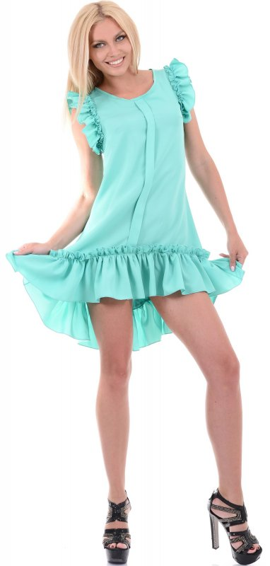 Купить Милое коктейльное платье без рукавов