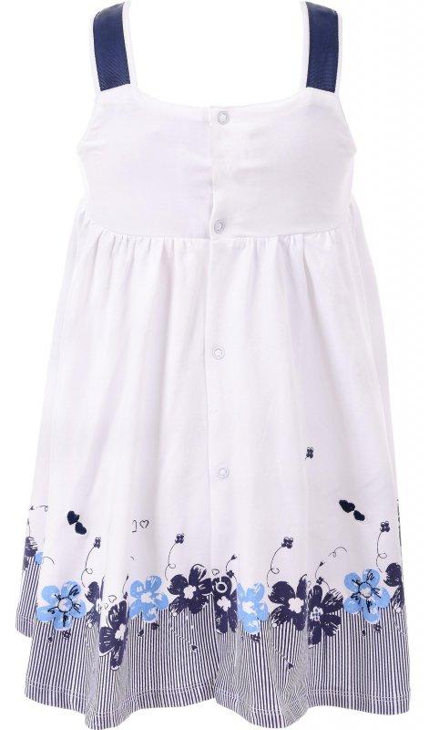 Купить Нежный сарафан белого цвета с цветами