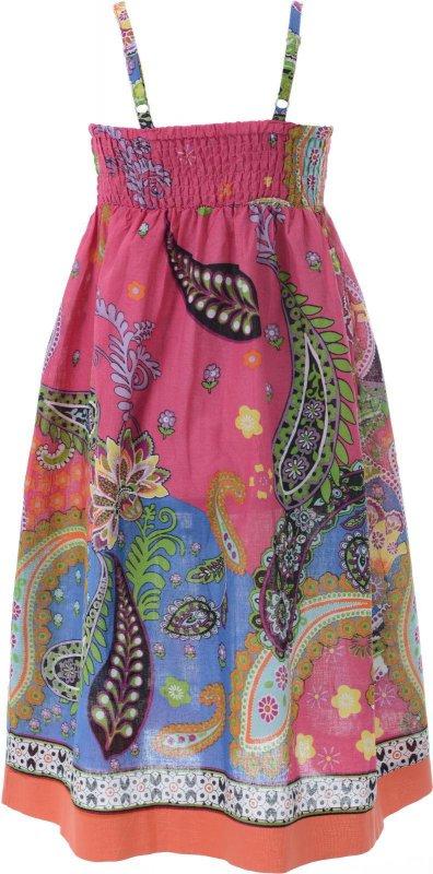 Купить Красивый сарафан розового цвета с узором