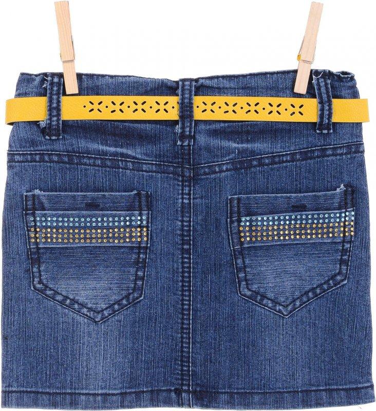 Купить Оригинальная джинсовая юбка с узором