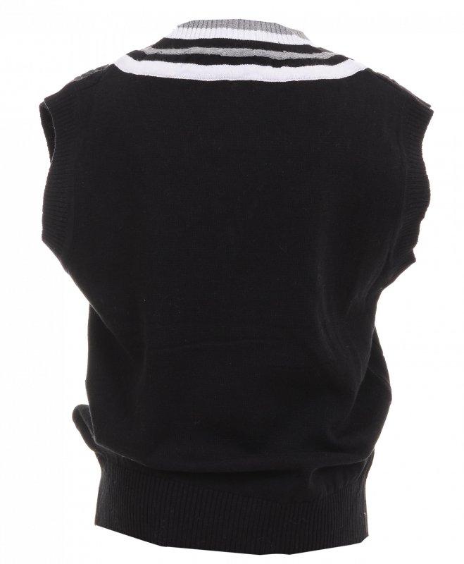 Купить Стильная жилетка черного цвета