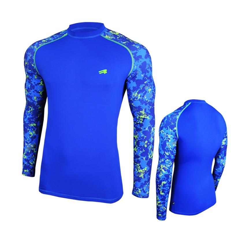 Кофта спортивная мужская Radical Furious II LS синяя