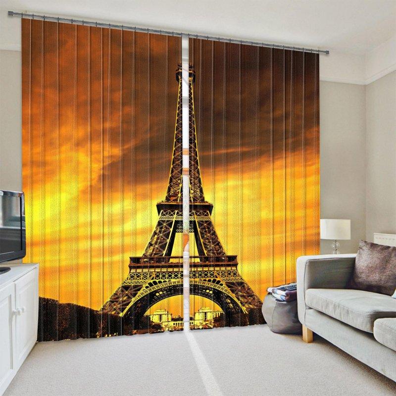 Купить Фотошторы Эйфелева башня