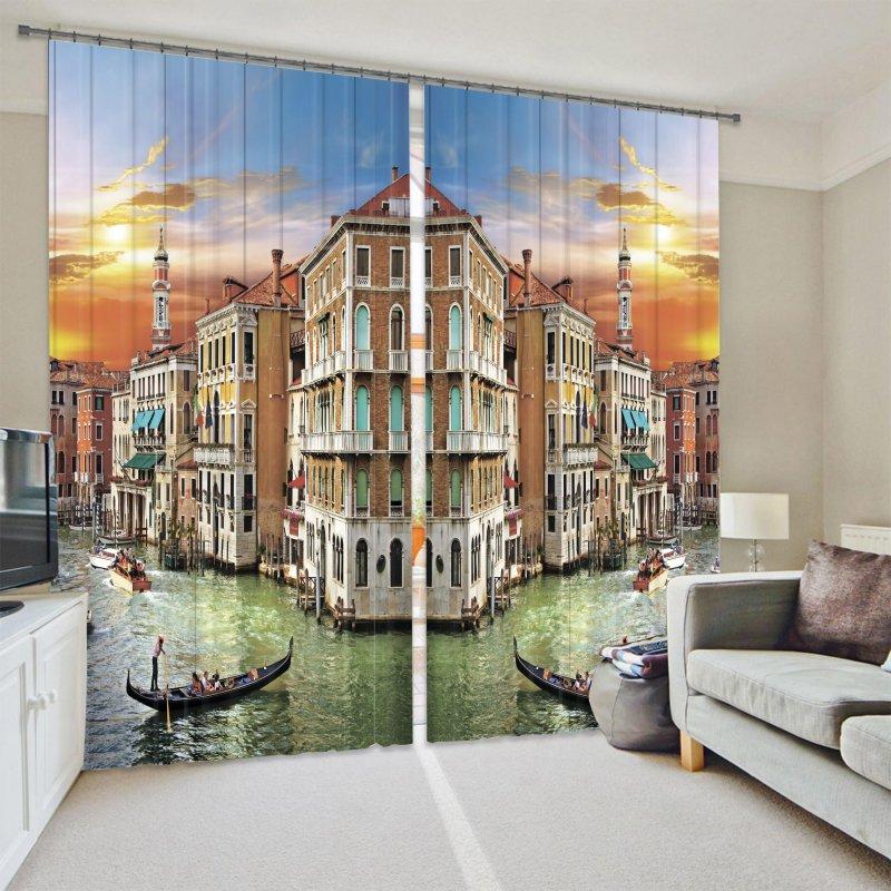 Купить Фотошторы Венеция рассвет