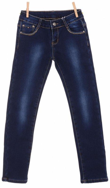 Купить Модные теплые джинсы синего цвета
