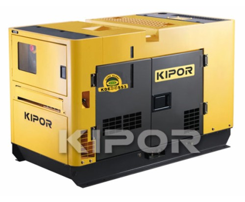 Diesel generator, power plant, electrical unit, DGA KDA35SSO3 model three-phase