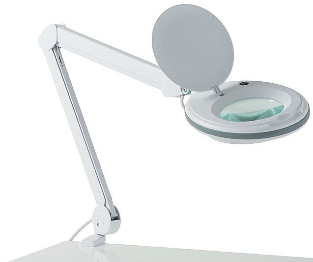 Cosmetology lamp a magnifying glass 6027 for eyelash extension ...