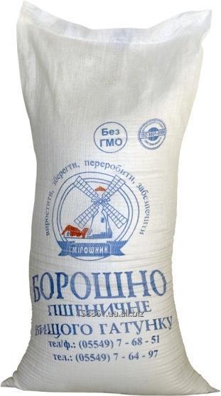 Мука пшеничная высшего сорта 25 кг в мешке