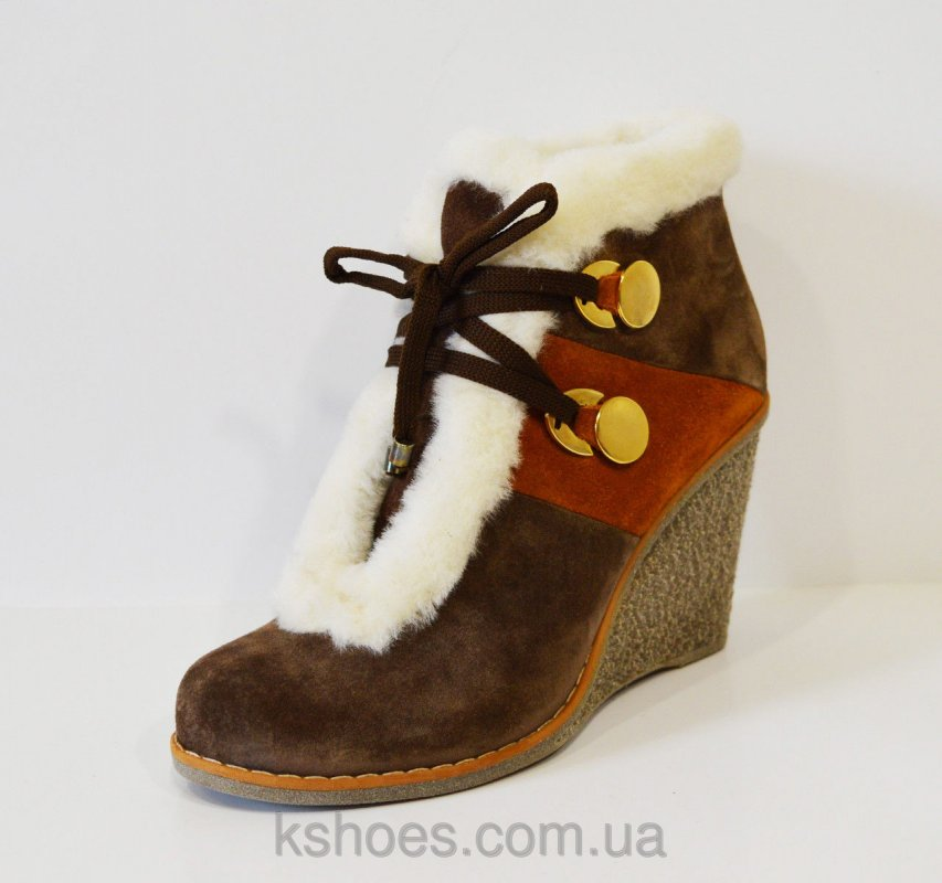 Купить Ботинки коричневые зимние Fabriano 2635