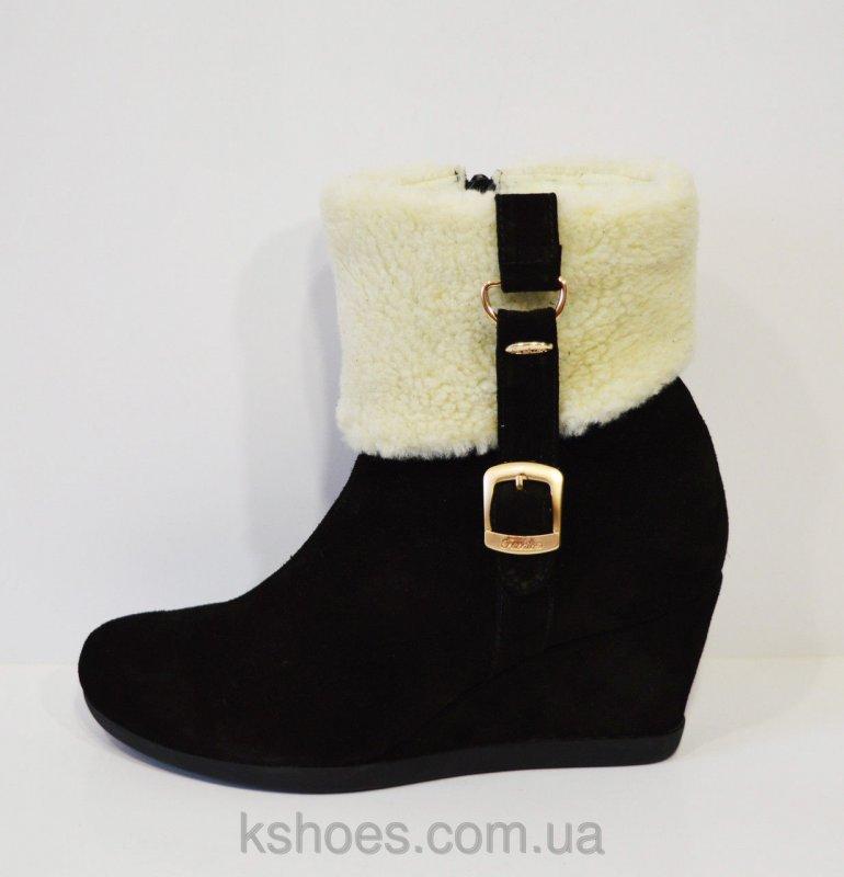 Купить Женские черные ботинки Kluchini 2065