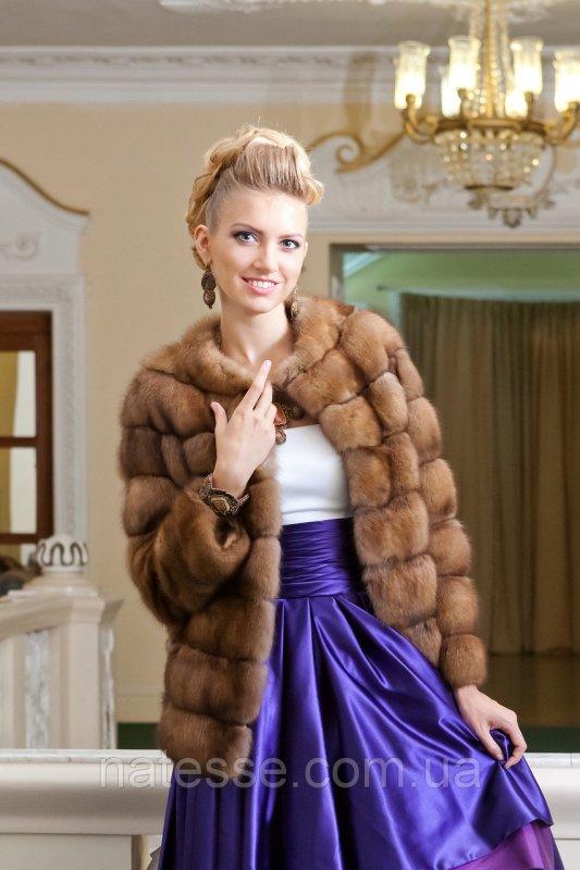 "Шуба из соболя ""Габриэлла"" sable jacket fur coat"