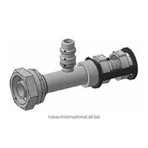 Фитинг для компрессора с внутренней резьбой UNF, с клапаном R134 Burgaclip