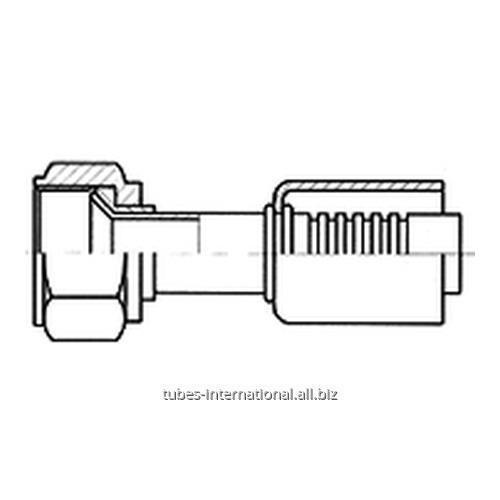 Фитинг с внутренней резьбой UNF, тип SAE, конус 45°