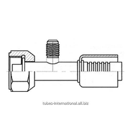 Фитинг с внутренней резьбой UNF, трубчатый, с клапаном R12