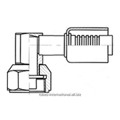 Фитинг 90° компакт с внутренней резьбой UNF, трубчатый