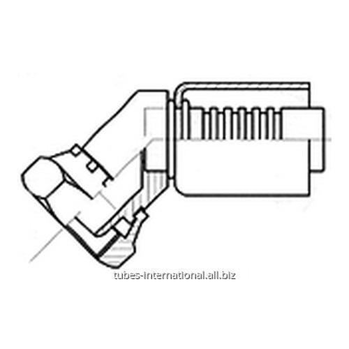 Фитинг 45° для компрессора, с внутренней резьбой UNF