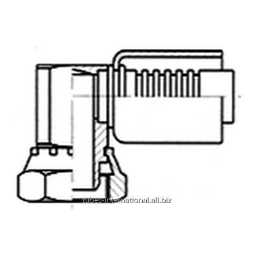 Фитинг 90° для компрессора, с внутренней резьбой UNF