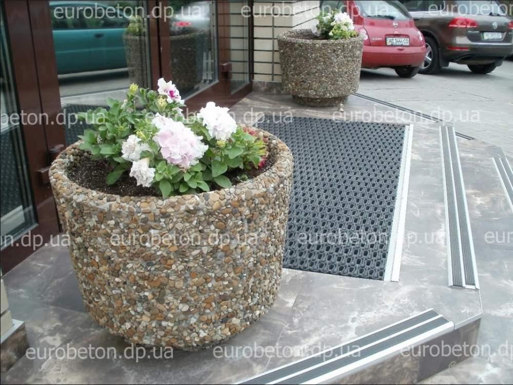 Вазон из бетона для цветов ОРИОН