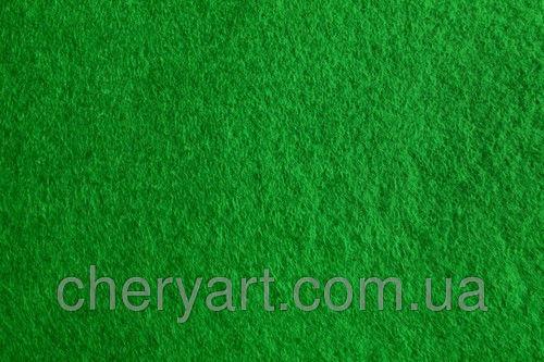 Фетр 1мм зеленый на метраж