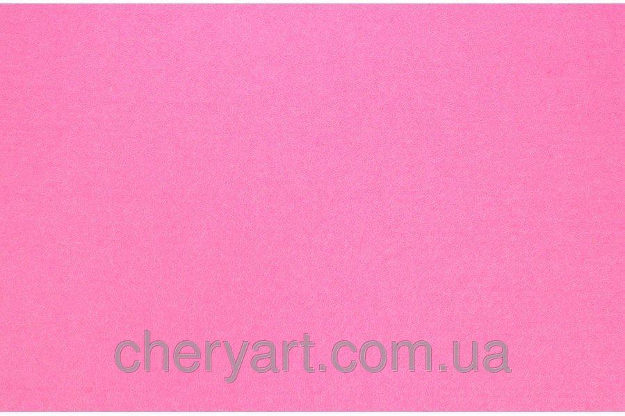 Фетр 1мм ярко розовый на метраж