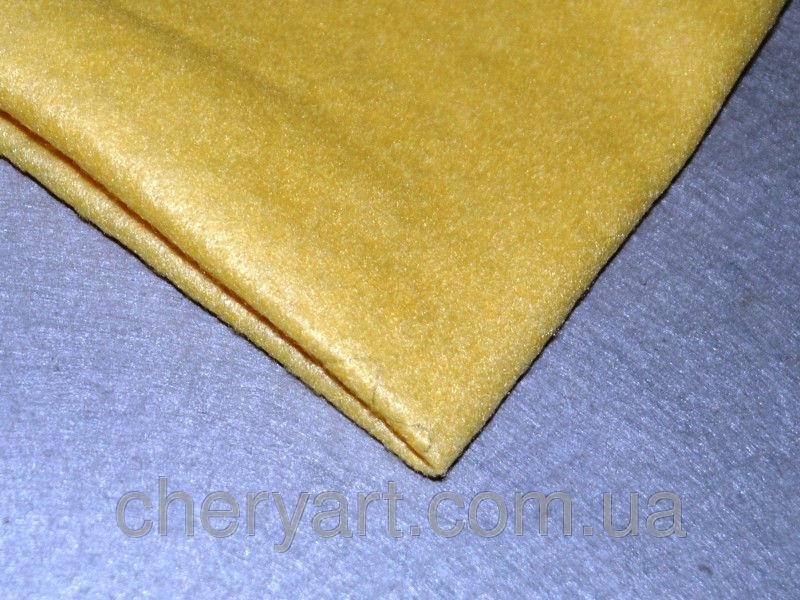 Фетр 1.4мм мягкий бледно-желтый